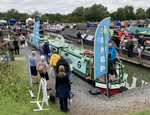 In pictures: LNBP at Crick Boat Show 2021